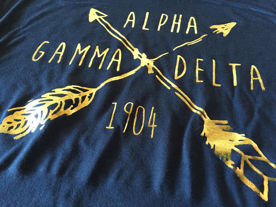 Alpha Gamma Delta - Tshirt